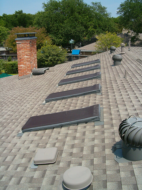 Measuring Square Dome Skylights For Shades And Skylight Covers