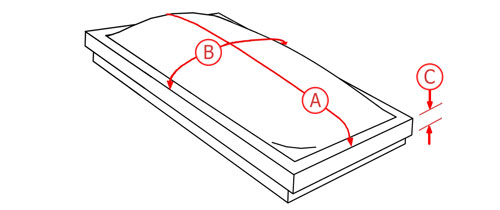 d068e00adba688 Skylight Shades   Skylight Blinds - Correct Measurements